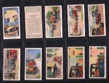 Tobacco cards cigarette cards set Safety First 1934