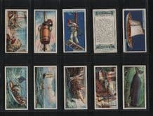 Tobacco cards cigarette cards set Whaling 1927