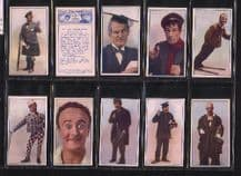 Tobacco cards cigarette Music Hall celebrities 1930