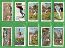 Tobacco cards set Cigarette cards Sports Records ,Motor Racing , Golf, Tennis,