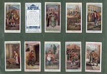 Tobacco Cigarette cards Cries of London 1913 set