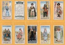 Tobacco cigarette cards Gilbert & Sullivan 1925 Opera set