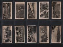 Tobacco cigarette cards  Homeland Events. Cricket, Polo, Tennis