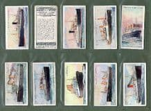 Tobacco cigarette cards Merchant ships of the world