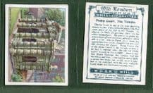 Tobacco cigarette cards Old London  1929  set