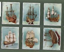 Tobacco cigarette cards Ship Models 1926 set of 20