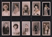 Tobacco cigarette cards Stage & Film Stars 1926 set by Four Aces