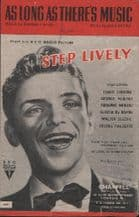 Very YOUNG Frank Sinatra music sheet #21