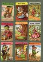 Vintage Cards game Woodland Snap by Papys