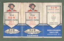vintage cigarette rolling papers outer cover only #086