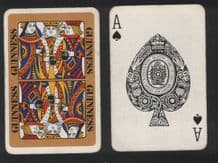 Vintage Collectible advertising. Guinness playing cards