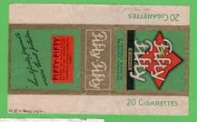 Vintage collectible cigarette pack B.A.T. Holland  packet #203
