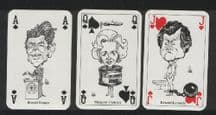 Vintage Collectible  Playing cards  Polit-poker International