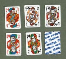 Vintage Collectible playing cards. Pelikan 1990`s