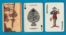 Vintage Collectible Railway Advertising  playing cards Forth Bridge