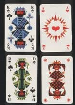 Vintage Non-standard playing cards Folklore Art