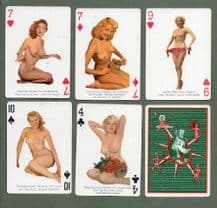 Vintage Pinup playing cards Pin-up, Artist's Models