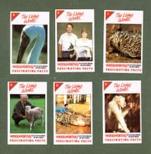 Vintage Trade cards set Fascinating Facts Guinness book of records