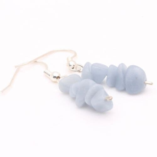 Angelite Chip Earrings