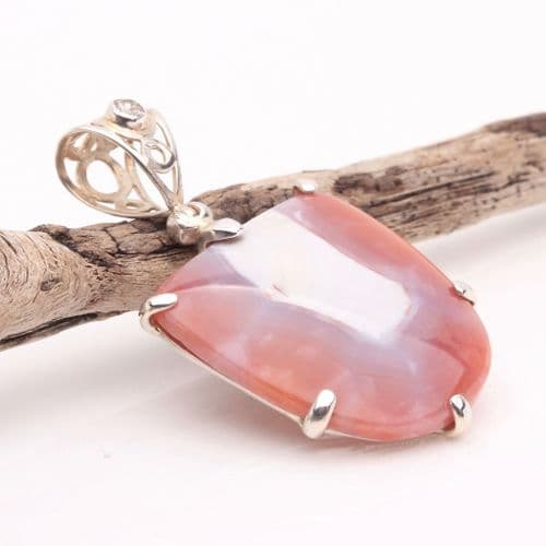 Banded Agate Pendant 1