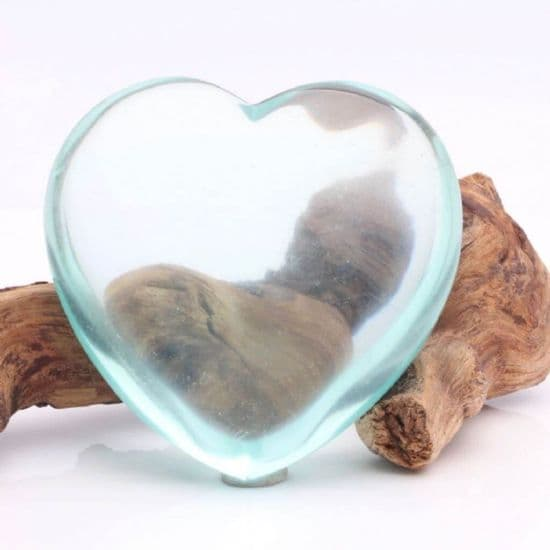 Blue Obsidian Hearts