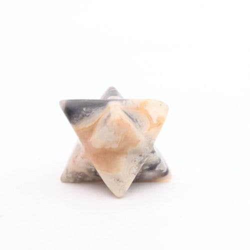 Crazy Lace Agate  Merkaba 6