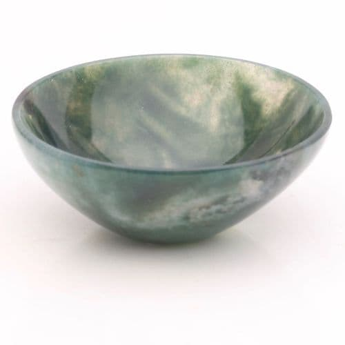 Green Moss Agate Bowl 2