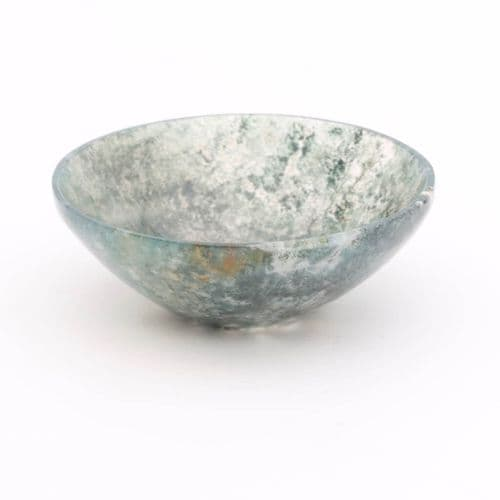 Green Moss Agate Bowl 4
