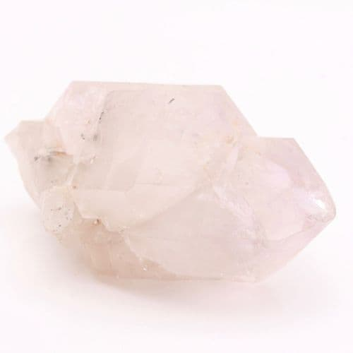 Light Amethyst Green Ridge Quartz Crystal 15