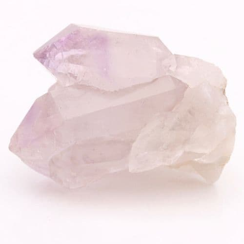 Light Amethyst Green Ridge Quartz Crystal 16
