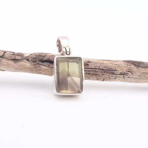 Phantom Gold Citrine Pendant 1