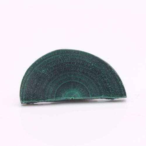 Polished Malachite Stalactite Slice 8