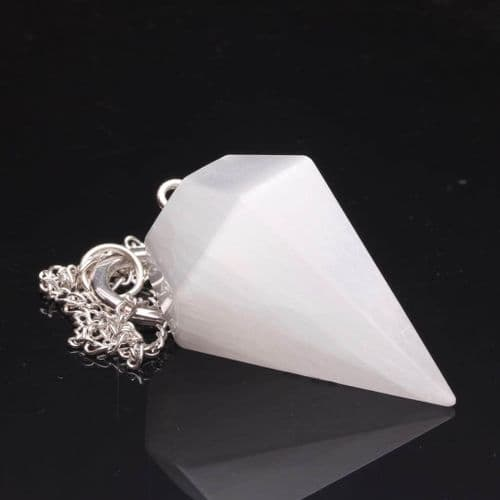 Selenite Pendulum 3