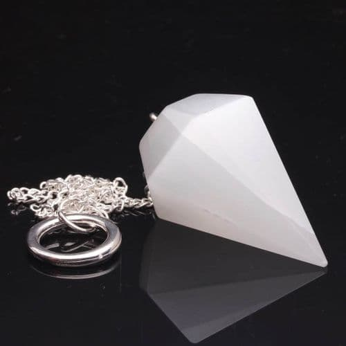 Selenite Pendulum 4