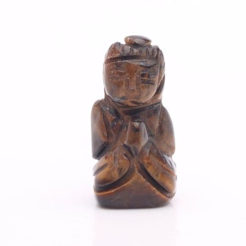 Tiger Eye Buddha 11