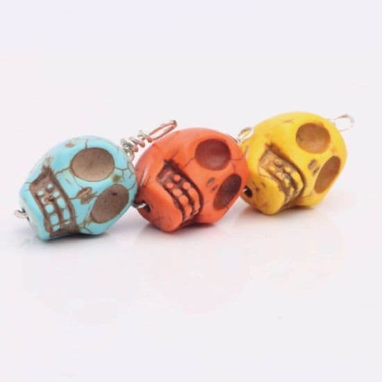 Wire Wrapped Skulls