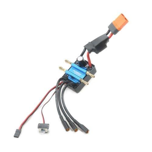 120A BL Marine ESC 2-6S Single Connector Z-DYNM3878