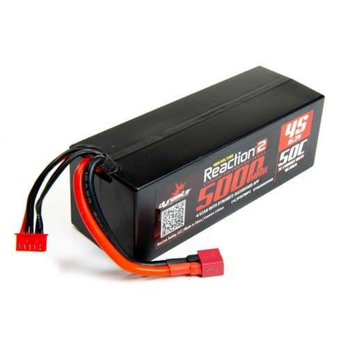 15.2V HV 5000mAh 4S 50C LiPo, Hardcase: Deans O-DYNB5045HVHD