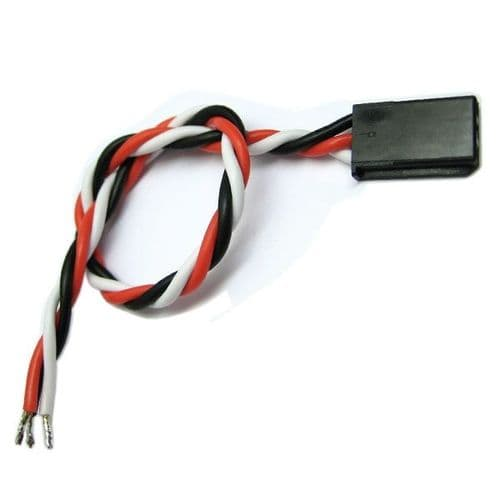 Etronix 15cm 22Awg Futaba Twisted Servo Wire ET0747