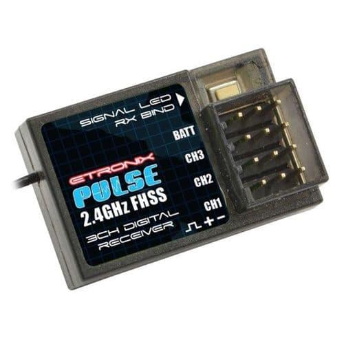 Etronix Pulse Fhss Receiver 2.4Ghz For Et1106/Et1122 ET1152