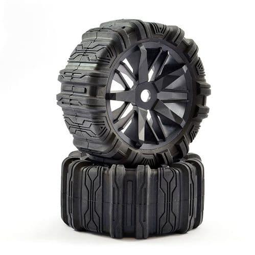 FTX Futura Concept Sand Tyres/Wheels Mounted (Pr) FTX7725