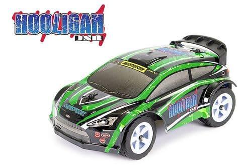 FTX Hooligan Jnr 1/18th RTR Rally Car - Green FTX5526G