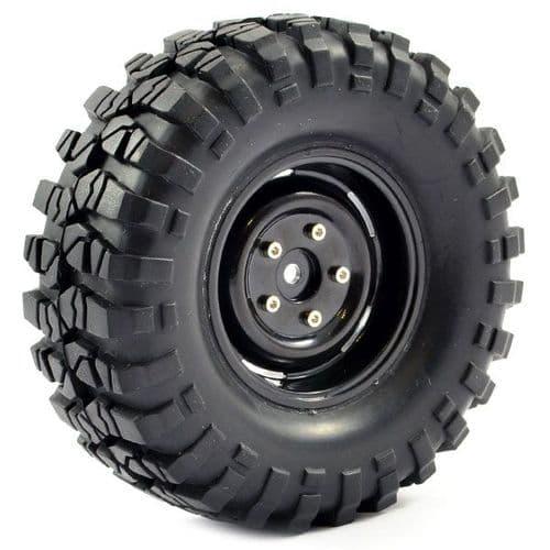 Fastrax 1:10 Crawler Sawblock 1.9 Scale Wheel 108mm Tyre FAST1266B FAST1266B
