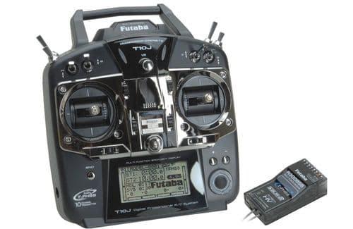 Futaba 10Ch Combo 2.4G T/S-Fhss M2 R3008sb P-CB10J/L