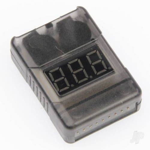 GT Power 2-8S Battery Meter and Low Voltage Alarm GTP0049
