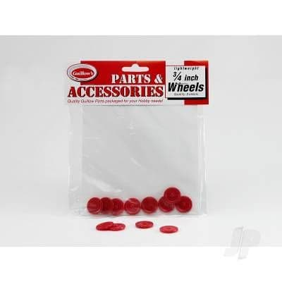 Guillow 3/4in Plastic Wheel (8 wheels) GUI111
