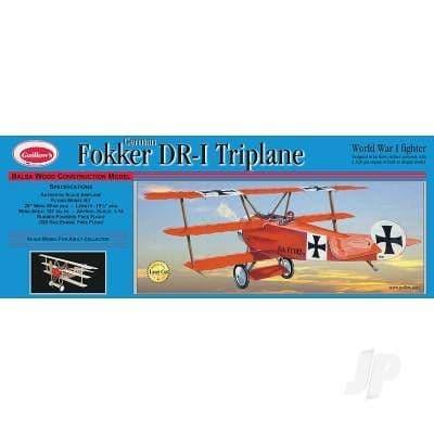 Guillow Fokker Triplane (Laser Cut) GUI204LC