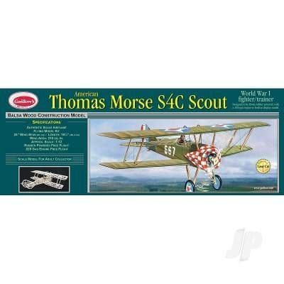Guillow Thomas Morse Scout (Laser Cut) GUI201LC
