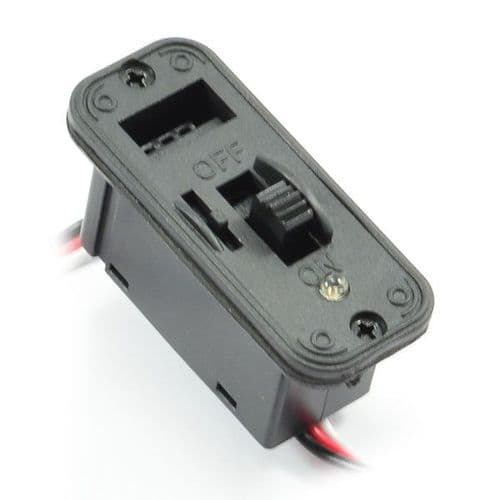 Heavy Duty Futaba Switch W/Led Indicator & Charge Port ET0781H