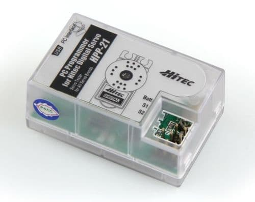 HiTec HPP21 PC Programmer For Digital Servos 2229050